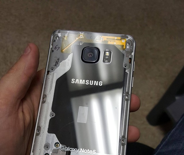 Galaxy Note 5 transparent