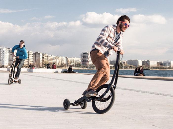 Laissez tomber votre vélo, passez sur le Halfbike !
