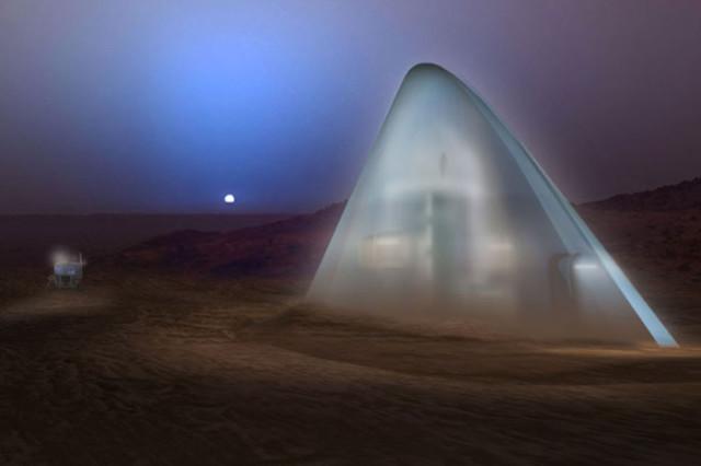Ice House maison martienne