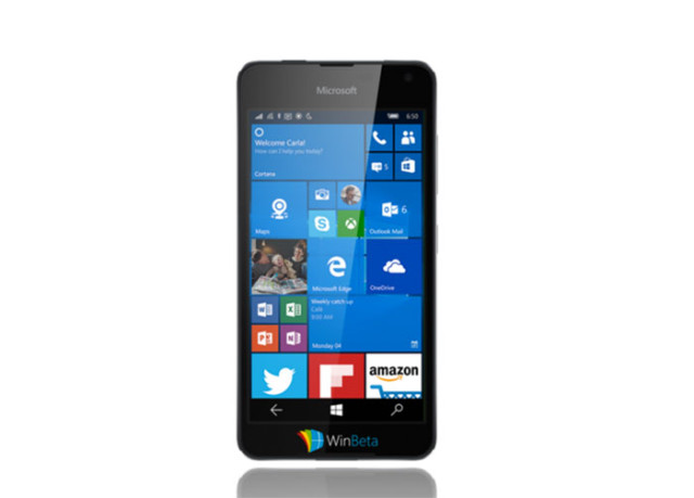 Rendu Lumia 650