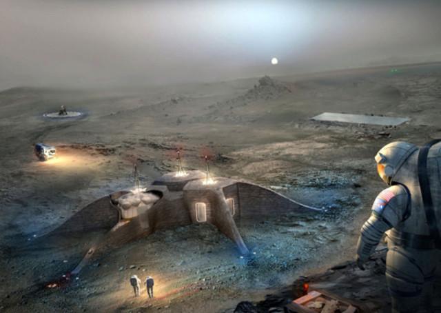 Maison Robot Mars