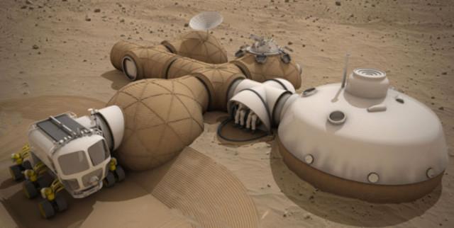 Maison Dômes Mars