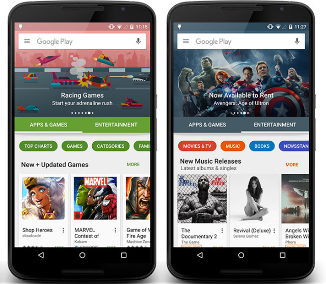 New Play Store : image 2