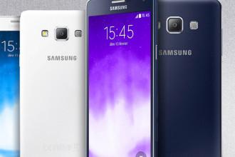Nouveaux Galaxy A3 et Galaxy A7