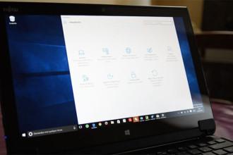 Panneau configuration Windows 10