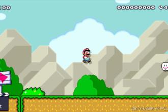 Plate-forme invisible de Super Mario Maker