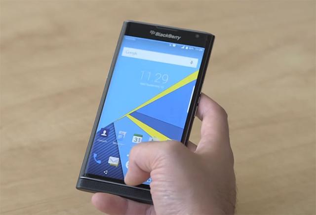 Prise en main BlackBerry Priv