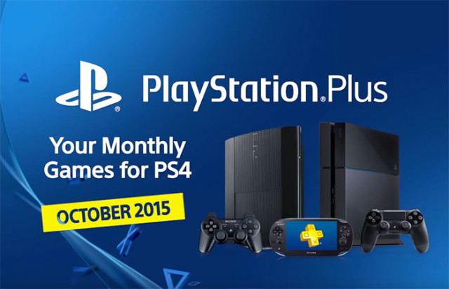 PlayStation Plus Octobre 2015