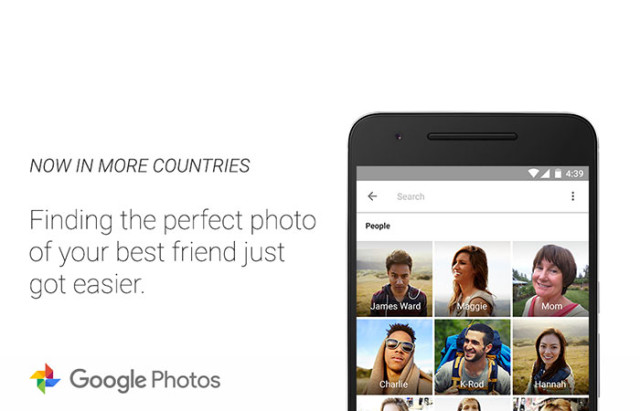 Reconnaissance faciale Google Photos