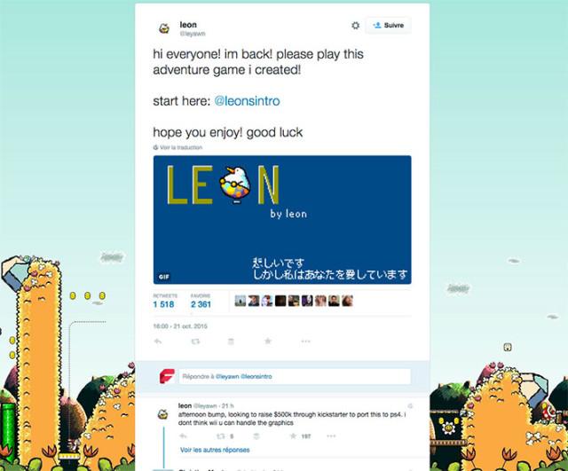 RPG Twitter Leon