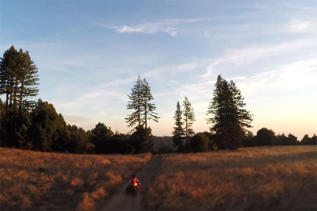 Vidéo drone GoPro