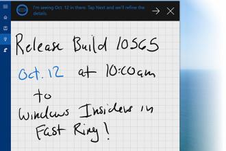 Windows 10 build 10565 : capture 1