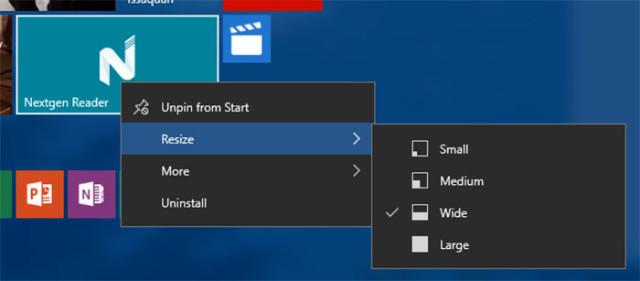 Windows 10 build 10565 : capture 2