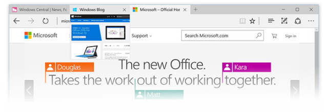 Windows 10 build 10565 : capture 3