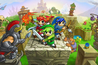 Zelda Tri Force Heroes