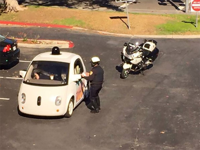 Arrestation Google Car