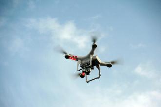 Attaque drone aigles