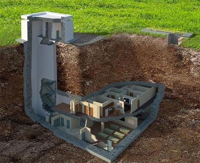 Bunker sous terrain : image 1