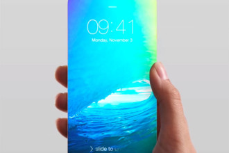 Concept iPhone 8 sans bordures