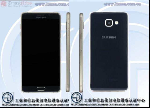 Image Galaxy A7 TENAA