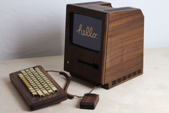 Macintosh 128k bois : image 1