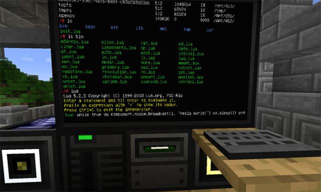 Ordinateur Minecraft