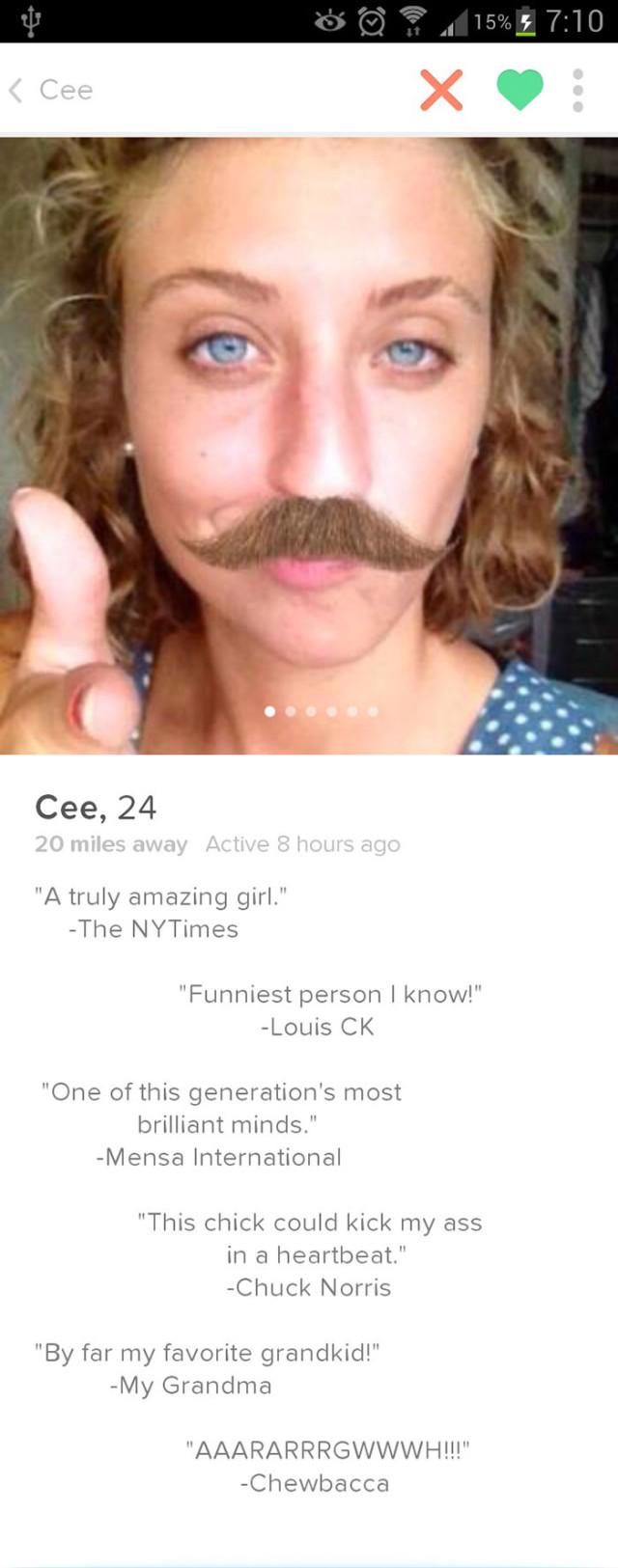 Profils Tinder bizarres : image 2