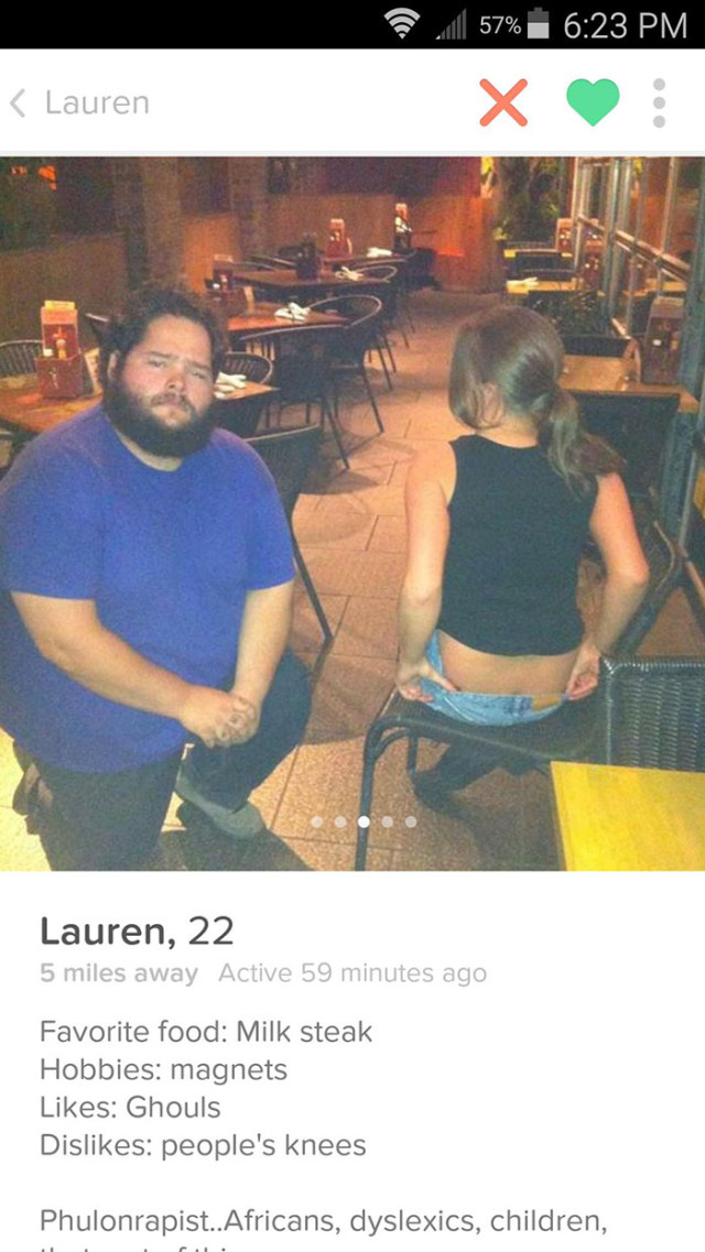 Profils Tinder bizarres : image 3