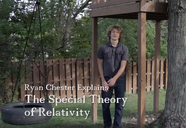 Il a gagné 400 000 $ en expliquant la théorie de la relativité en vidéo