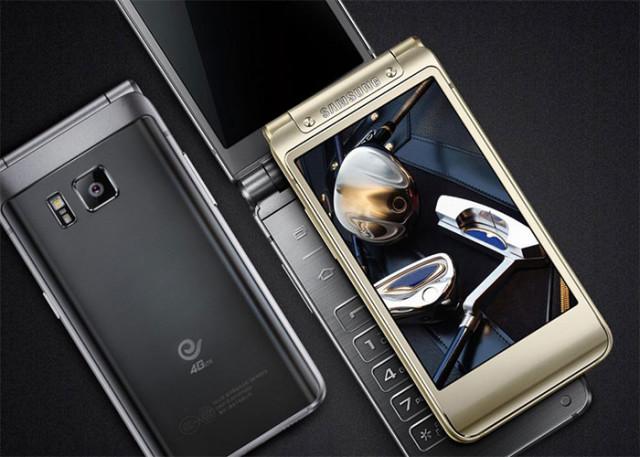 Samsung vient de présenter un nouveau téléphone à clapet