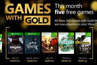 Xbox Live Gold décembre 2015