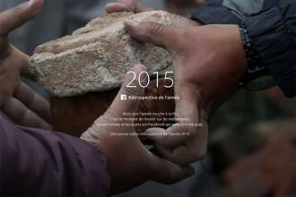 Rétrospective 2015 Facebook
