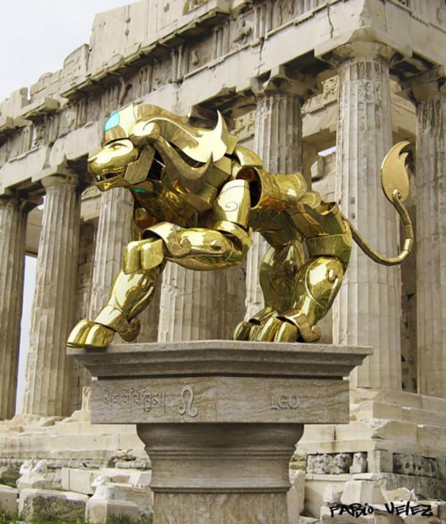 Armure Lion