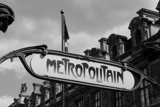 Carte métro Paris