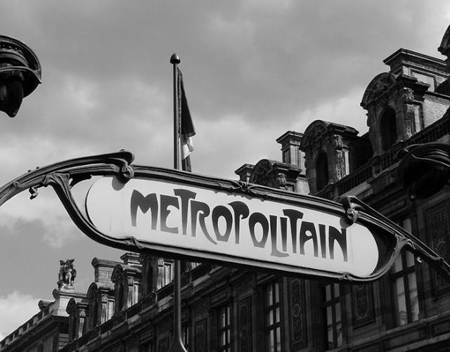 Carte métro Paris