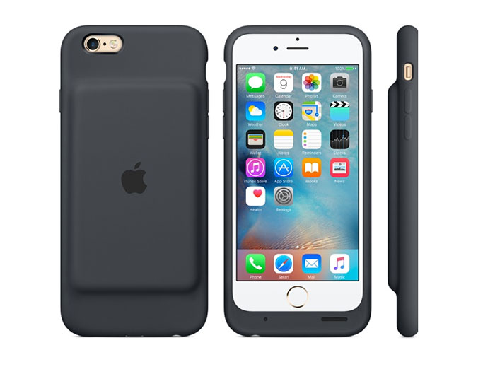 l 39 iphone 6s a maintenant sa coque batterie officielle. Black Bedroom Furniture Sets. Home Design Ideas