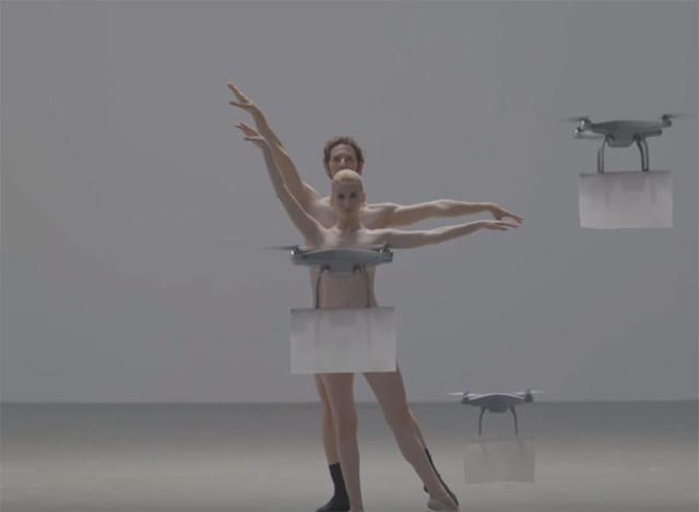 Danse avec des drones