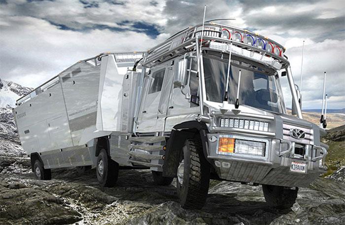 Ce camion ultime vous permettra de survivre à l'apocalypse