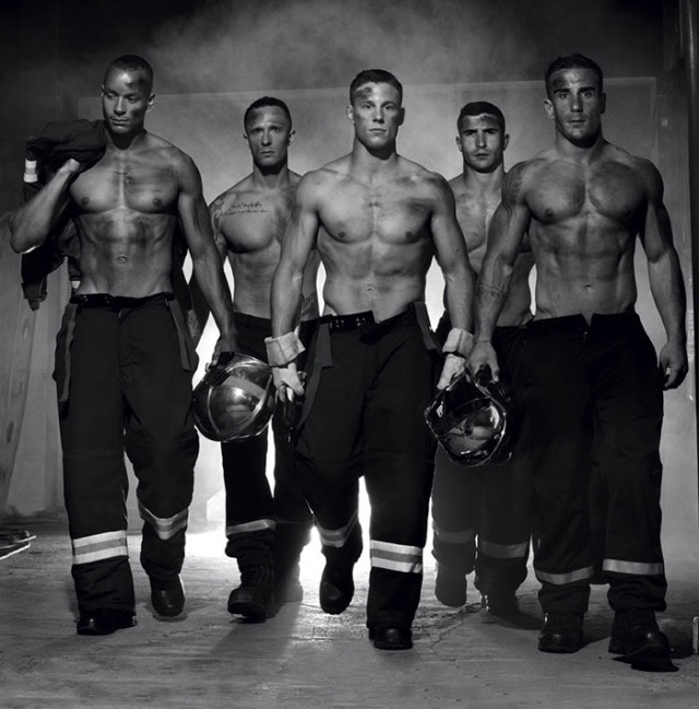 Calendrier sexy pompier : image 3