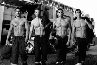 Calendrier sexy pompier : image 1