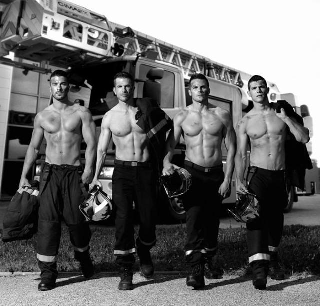 Eroismo ed erotismo dei pompieri francesi