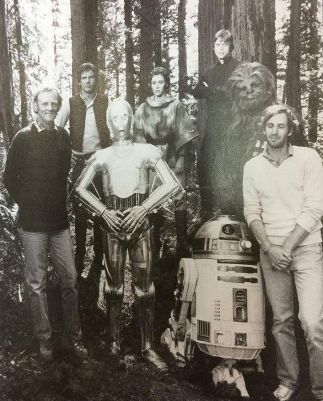 Photo tournage Star Wars : image 10