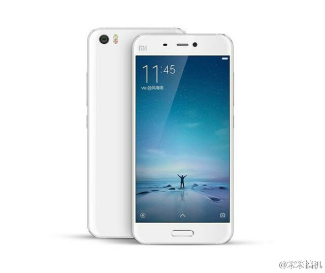 Xiaomi Mi5 blanc