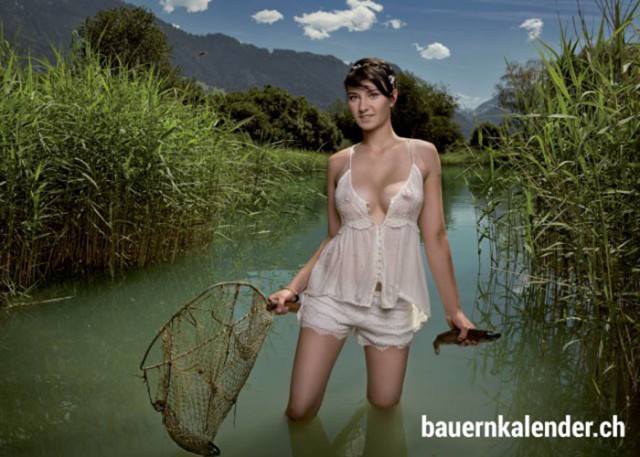 Calendrier sexy paysannes 5