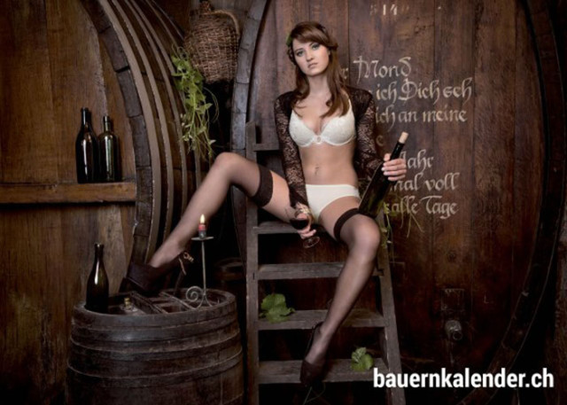 Calendrier sexy paysannes 9