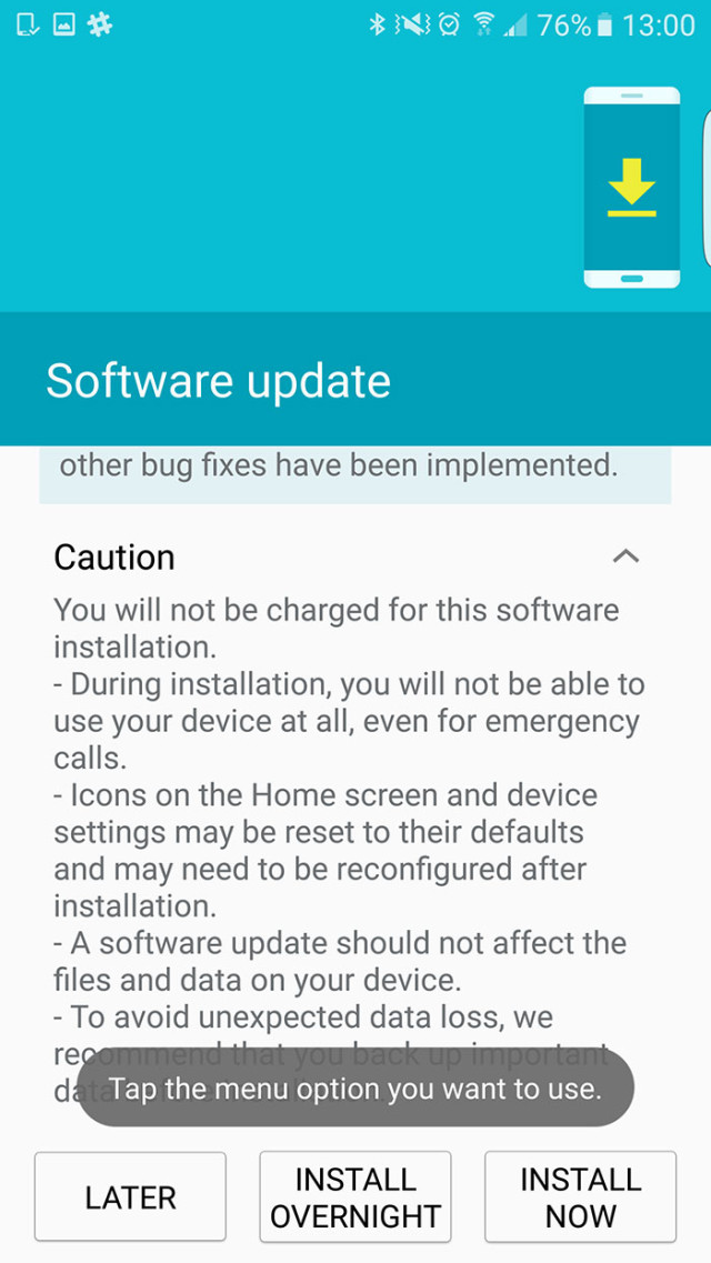 Capture Android 6.0.1 Galaxy S6 : image 1