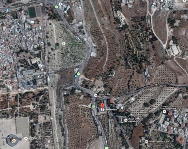 Gethsemane, Jérusalem