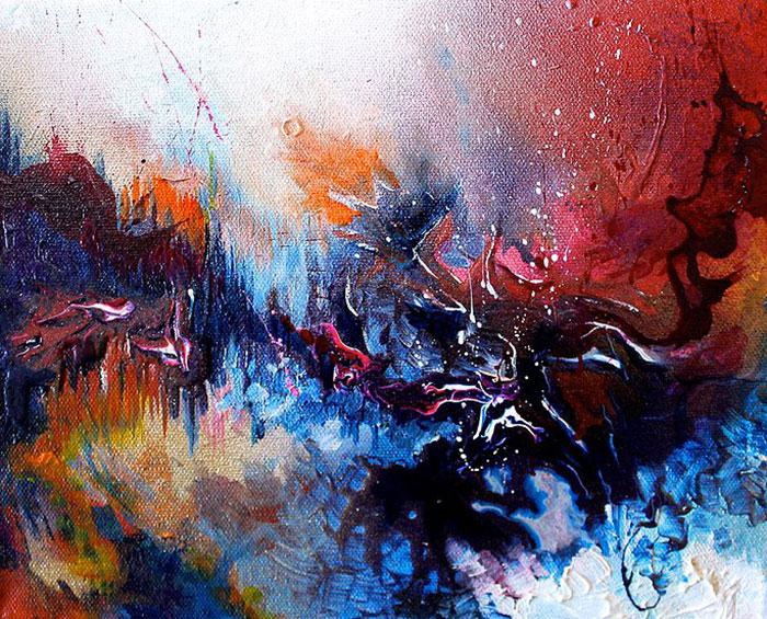 Synesthète, elle peint ce qu'elle entend et le résultat est magnifique