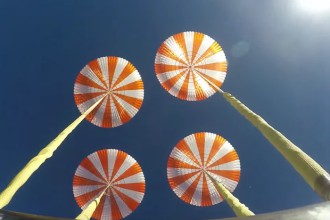 Parachutes SpaceX