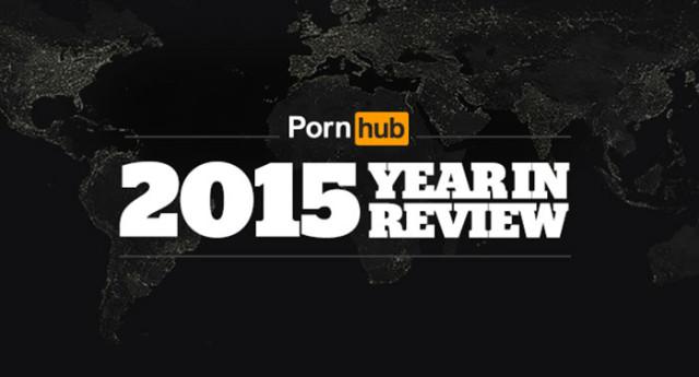 Pornhub : et les recherches les plus populaires en 2015 sont...